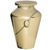 Aristocrat Gold Cremation Urn