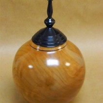 The Cherry Wood Cremation Urn