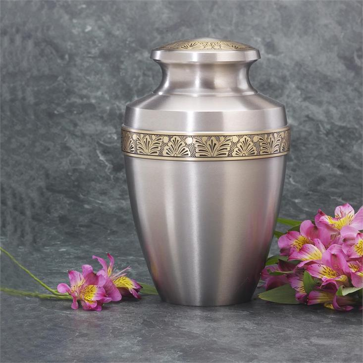 Milano Floral Cremation Urn Lone Star Cremation