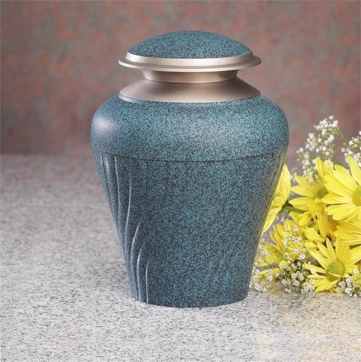 Tuscany blue cremation urn lone star cremation tuscany blue cremation urn solutioingenieria Image collections