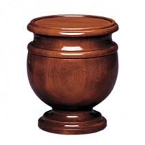 Jefferson Mahogany Cremation Urn