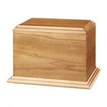 Minimum Poplar Harwood Cremation Urn