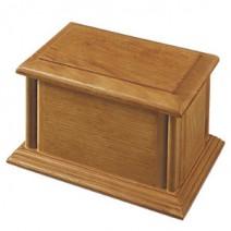 Monroe Oak Hardwood Cremation Urn