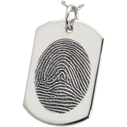 Fingerprint Cremation Jewelry