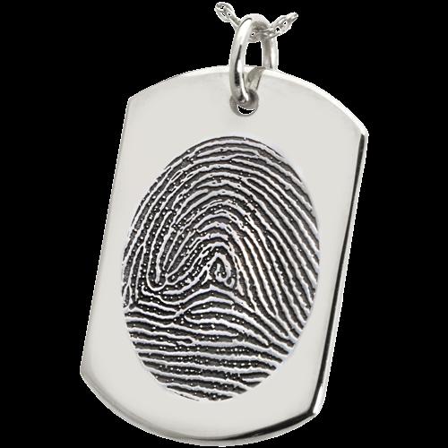 Fingerprint Cremation Jewelry