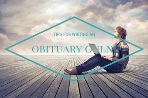 writing an obituary online